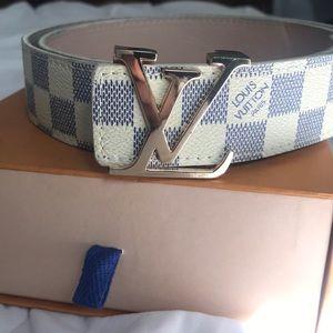 Louis Vuitton Belt Damier